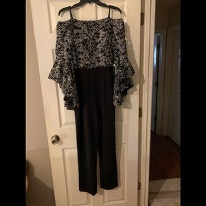 PROM TIME or WEDDING Adrianna Papell Jumpsuit